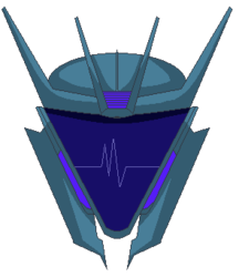 Transformers Prime Soundwave Pixelart