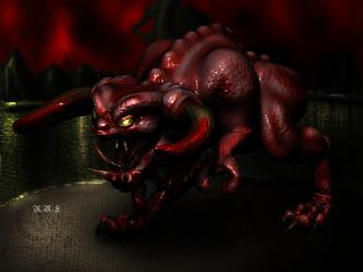 Pinky Demon Render