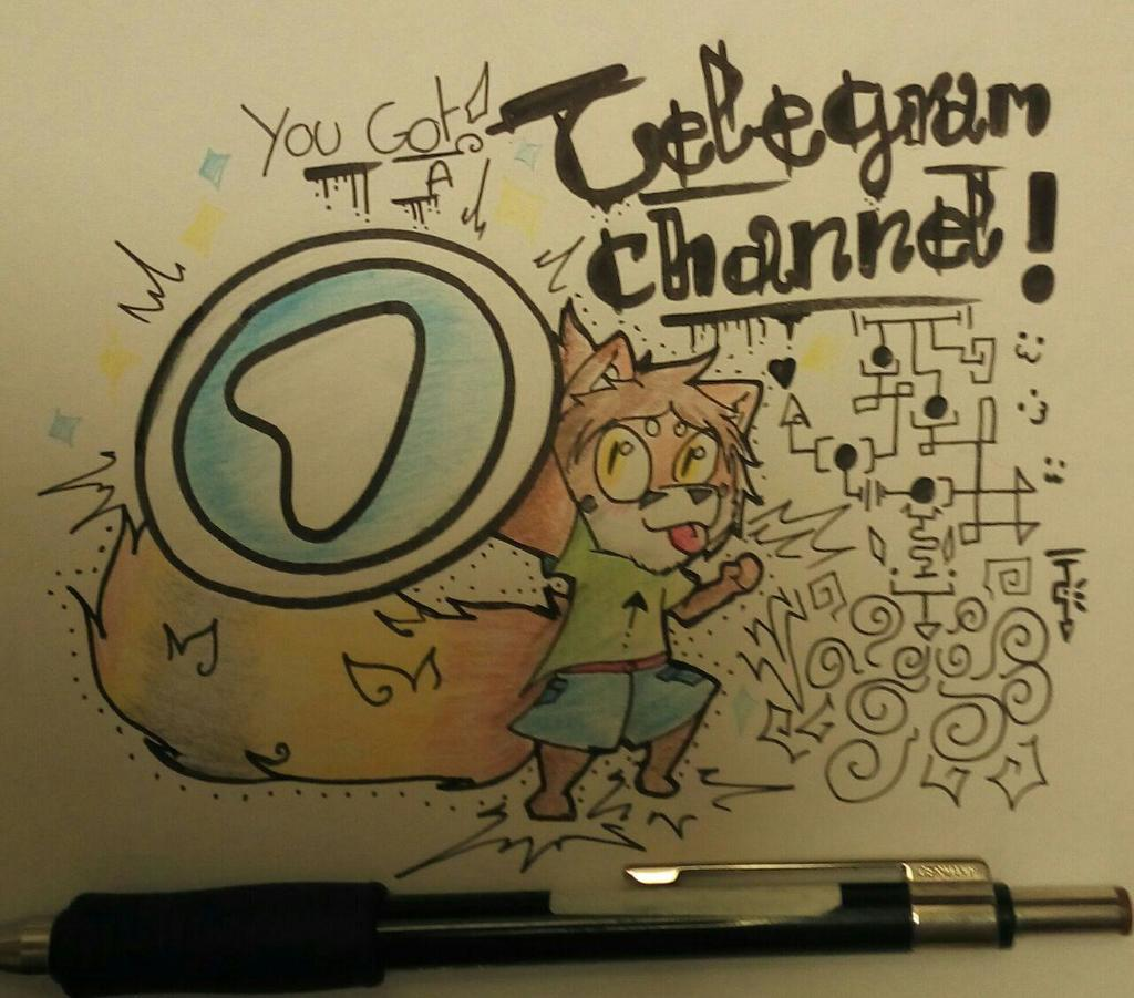 Most recent image: You got the Telegram channel!