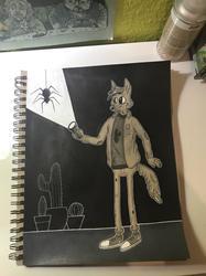 Tales from my Sketchbook - EEEK! SPIDER!
