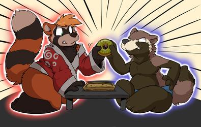 Battle for the Green Tea Donut