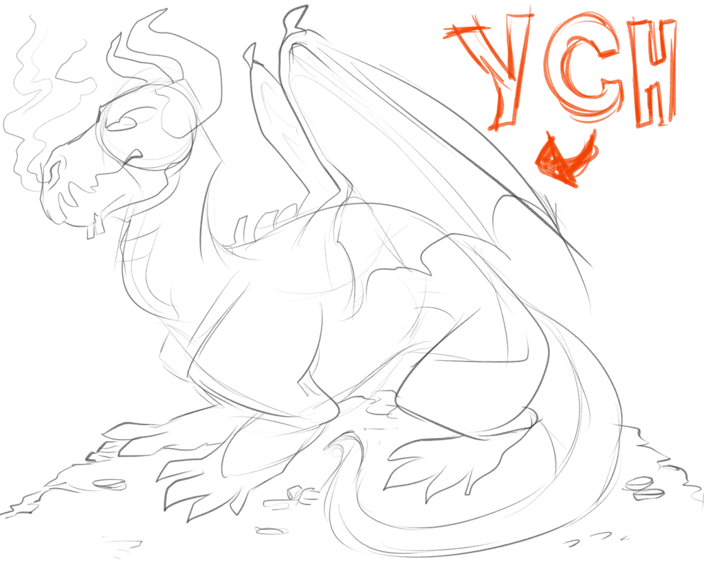 Dragon YCH Auction!