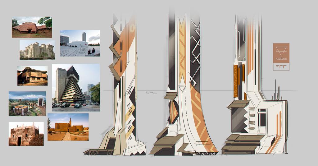 +700 architecture concept: Lagos