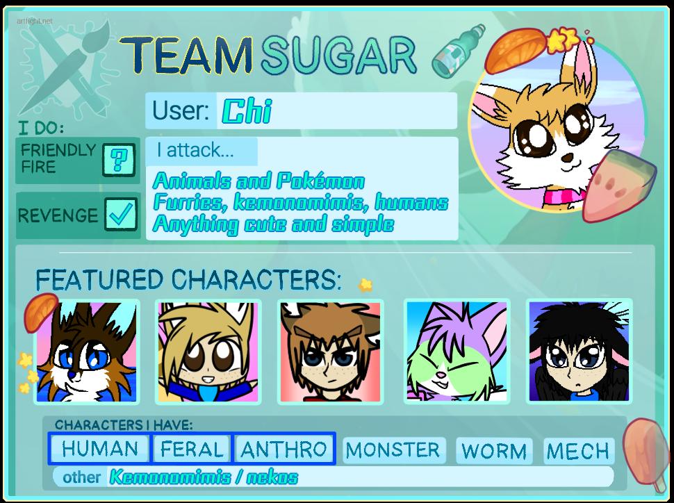 Art Fight 2020 - Team Sugar