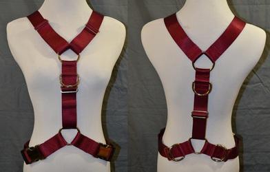 """1.5"""" Nylon Y Harness"""