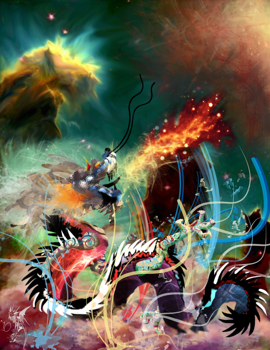 Featured image: Nebula Dragon