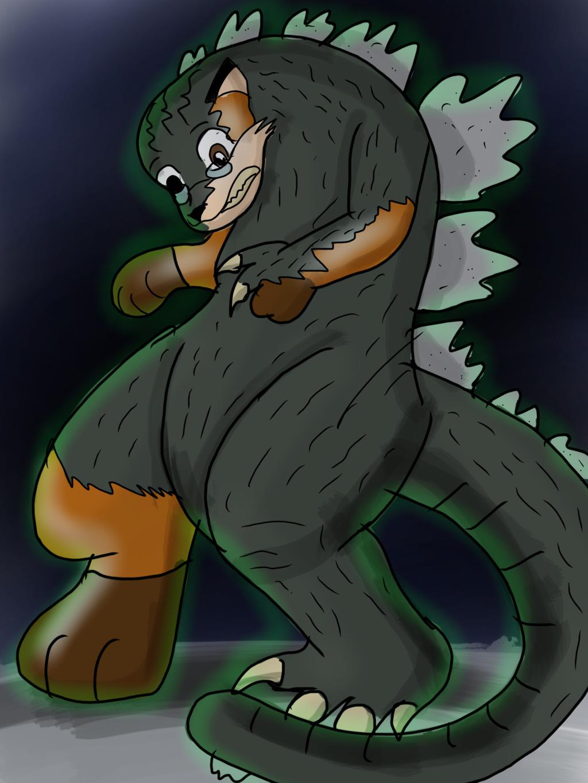 King of the monsters! Godzilla tf