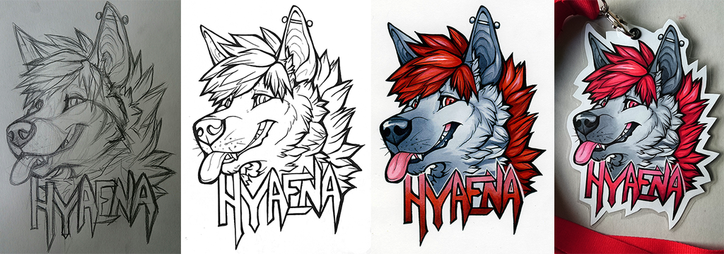 Badge: Hyaena (2016) - Progress