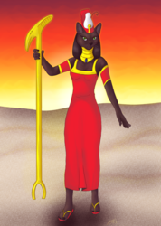 Goddess Bast-Mut