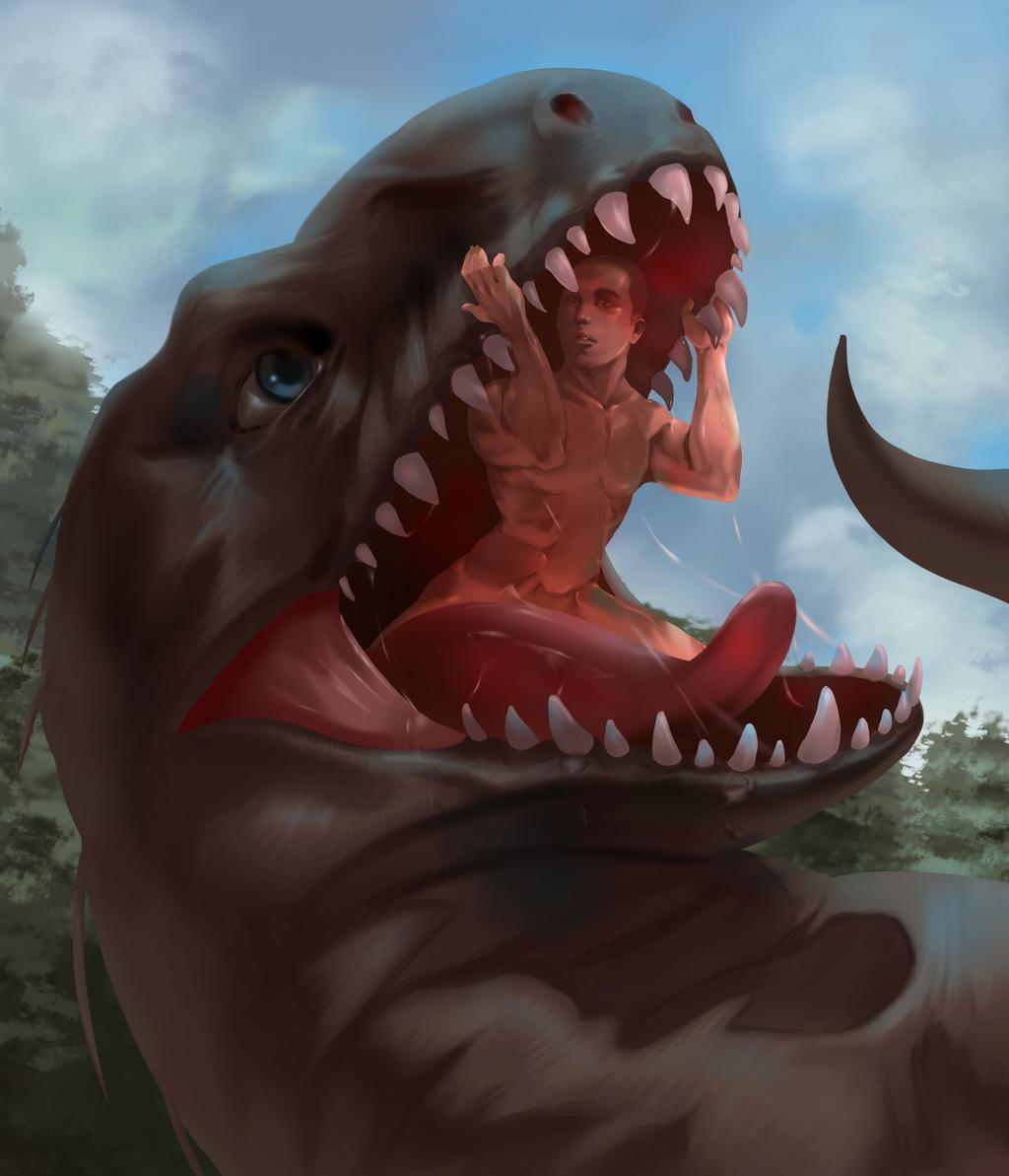 Most recent image: Indominus rex vore
