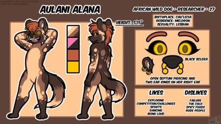 {P} Aulani Alana 2019 Reference Sheet