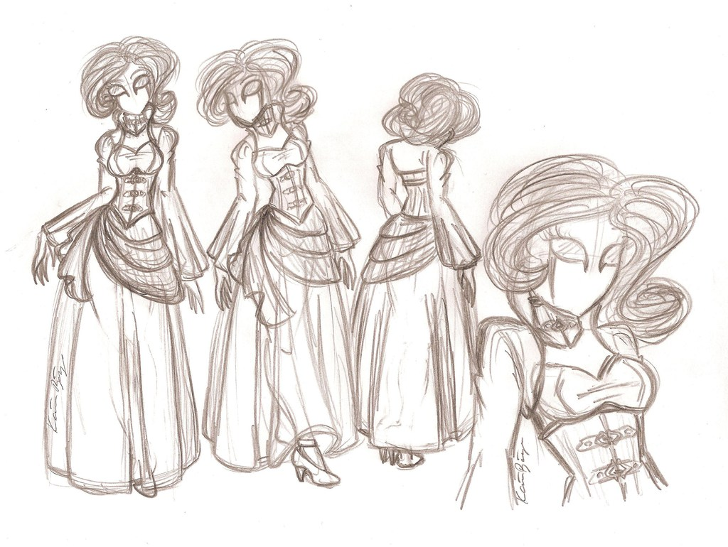 Most recent image: Lady Madeline - Rough Sketch
