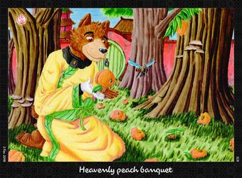 Heavenly Peach Banquet