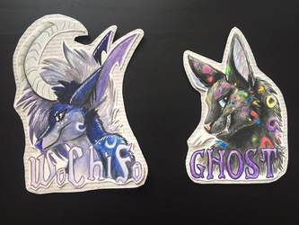 WoChiFo, Ghost - Badges
