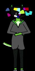 Glitch (Furry Dog form)