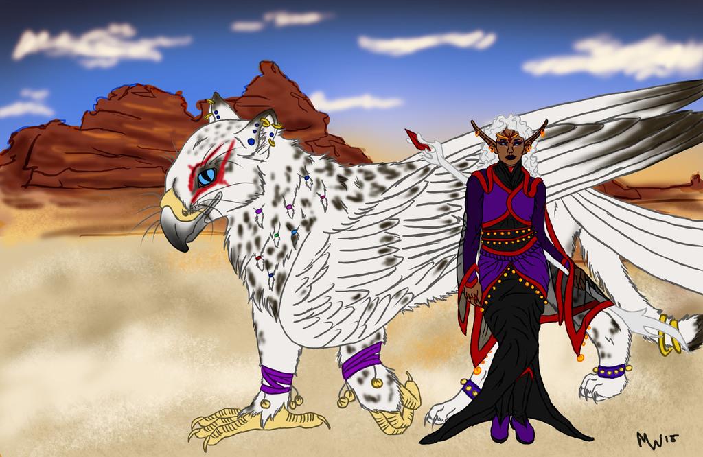 Gryphon Rider BattleMage