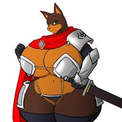 Beasts & Breasts - Brianna the Royal Guard