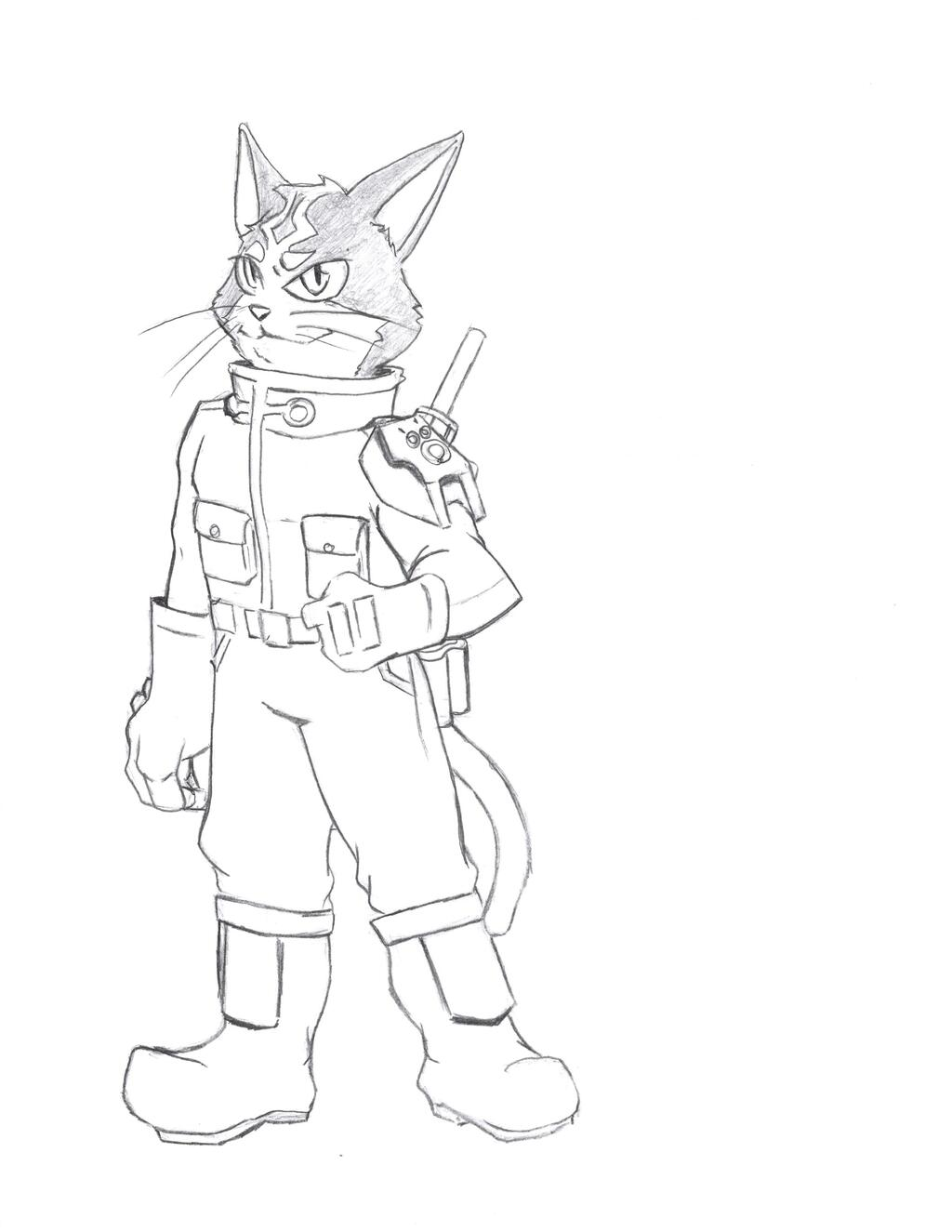 SpaceCats Starfox Edition