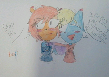 Draw your Otp Like this Challenge (Lammy x Katy)