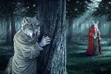 The Grimm Tale of the Hunter