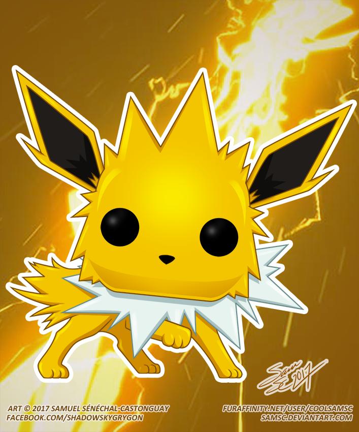 Pokémon Jolteon Funko Pop — Weasyl
