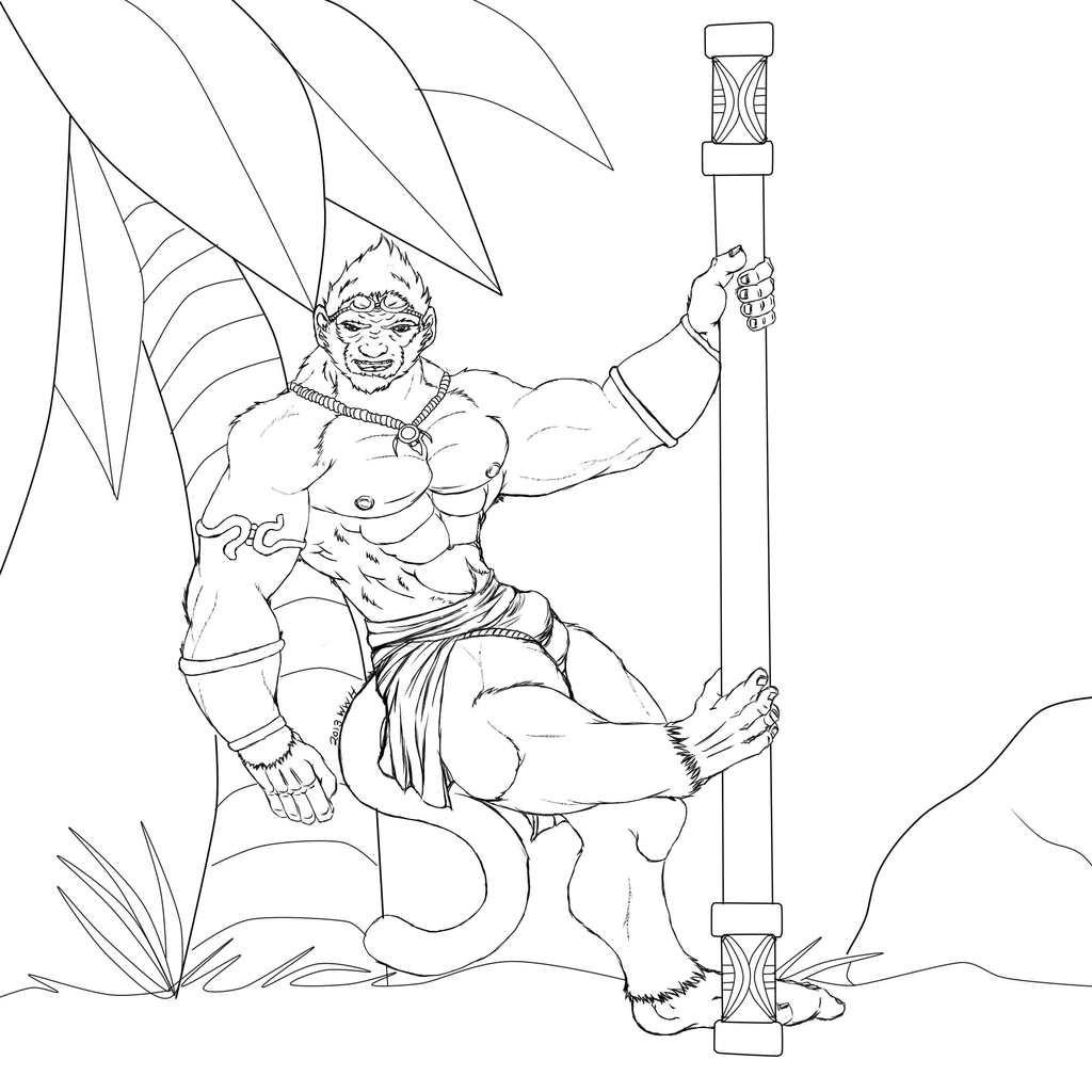 Most recent image: Pool Party WuKong