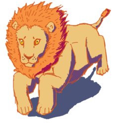 Speedpaint lion