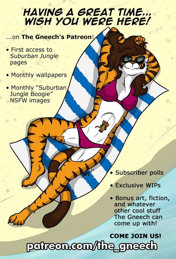 Patreon Postcard Flyer for AnthroCon