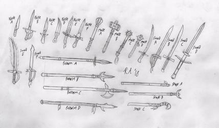 Wizardry-Like Weapons