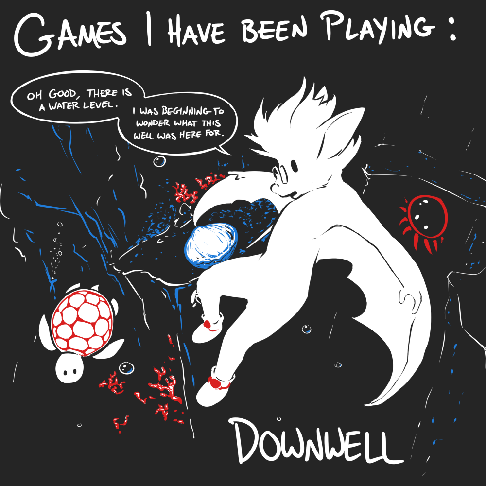 Games I Have Been Playing: Downwell