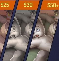 New Patreon Reward: Bonus Pin-ups!!!