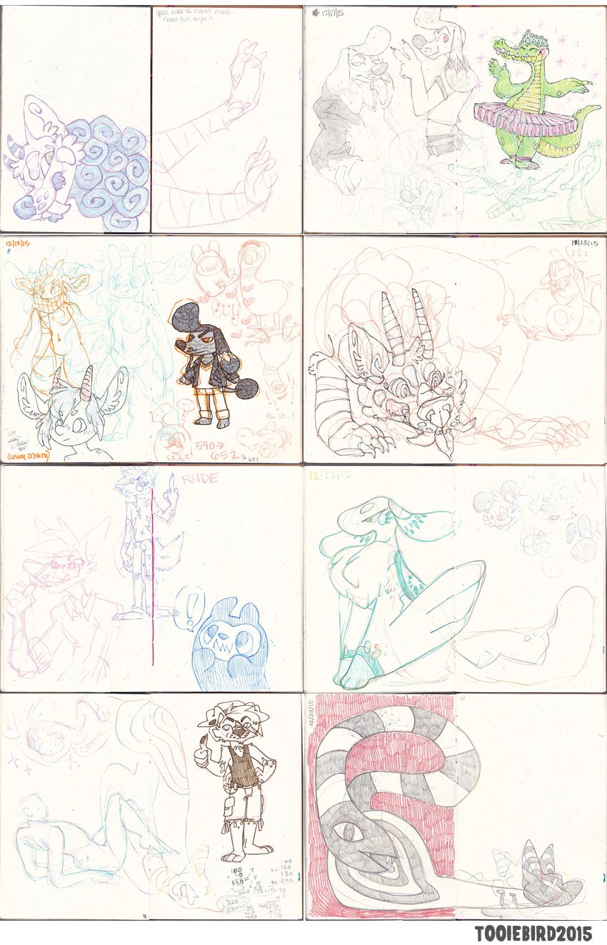 Sketchbook 75 - Part 9