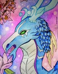 [Spring series #12] Blue Night-Spirit