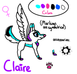 Claire Reference Sheet