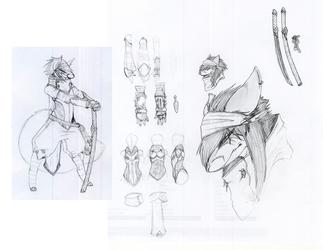 Kazuki sletches