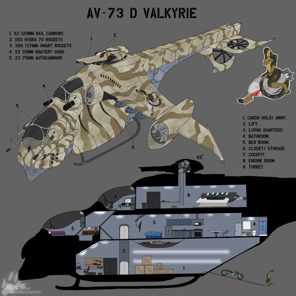Most recent image: AV-73 D VALKYRIE
