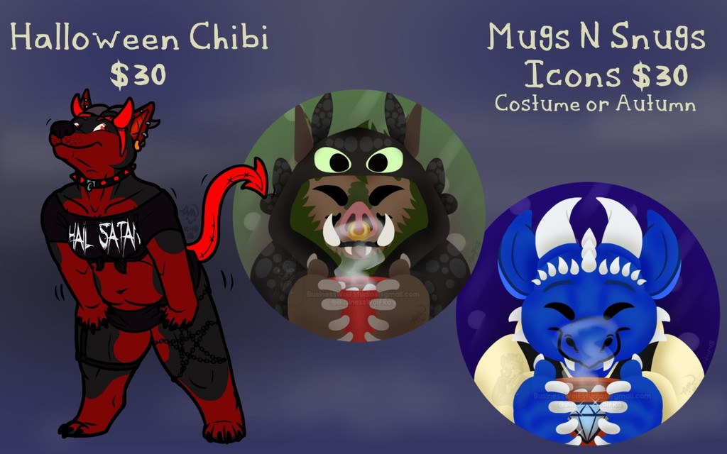 Halloween Commissions Open!