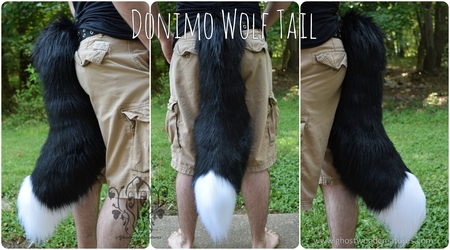[//Commission] Donimo Wolf Tail