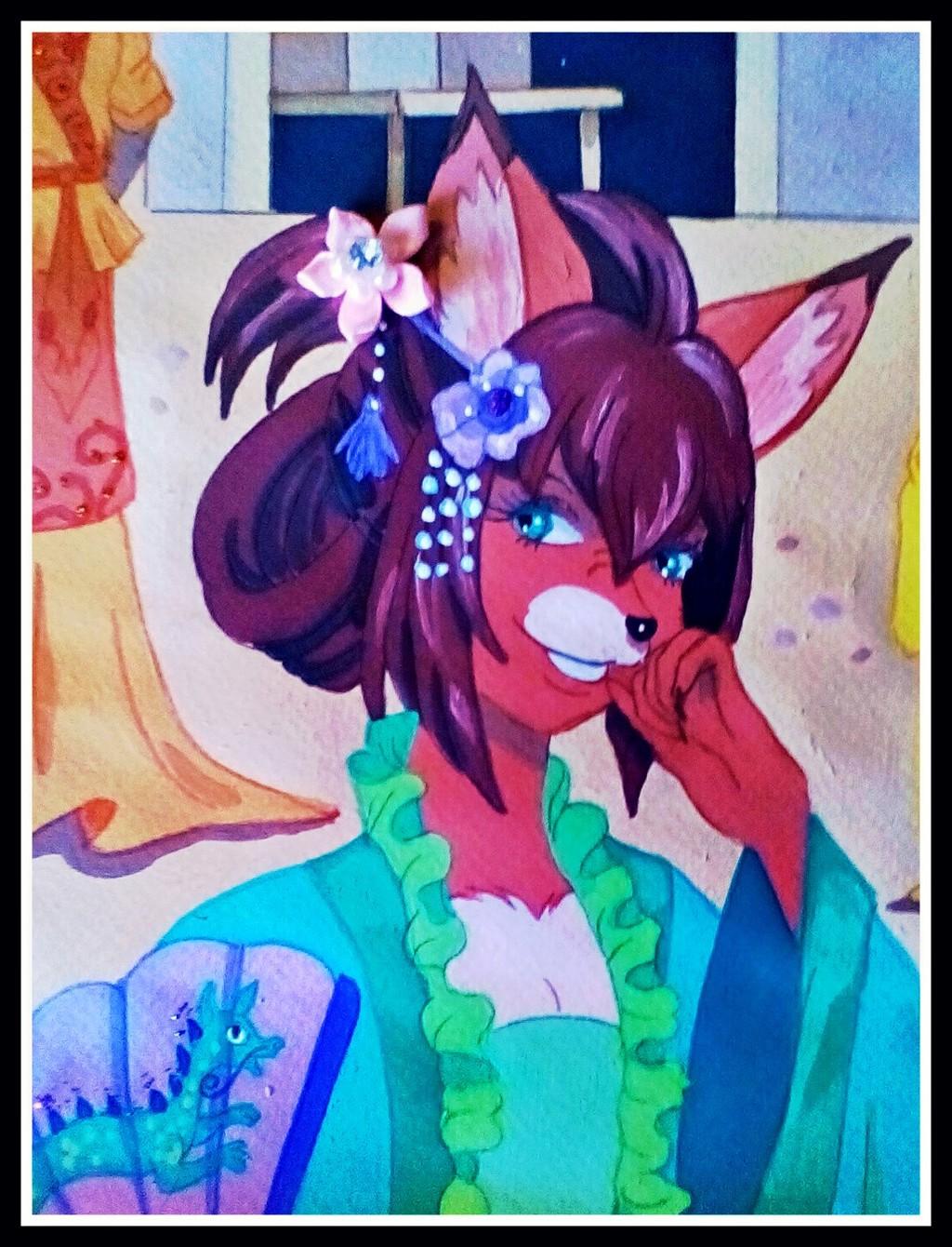 Chinese Fox Girl