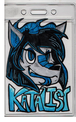 Katalist Badge by Candythecane