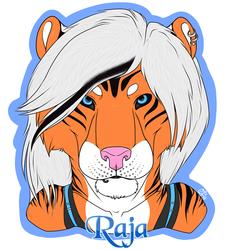 Raja Badge