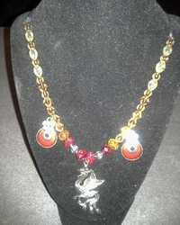 Swarovski Phoenix Necklace