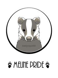 Meline Pride Badge