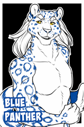 Badge: Blue Panther