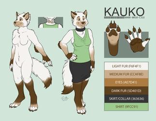 Kauko wolf ref by Amber-Aria