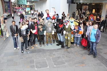 Bristol Furmeet September 2015 Group Photo