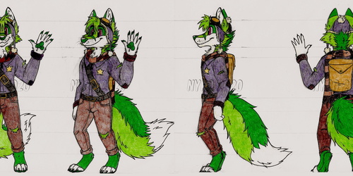 Finley the Fox turnaround