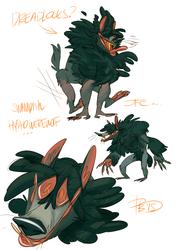 Swampy Werewolf OC
