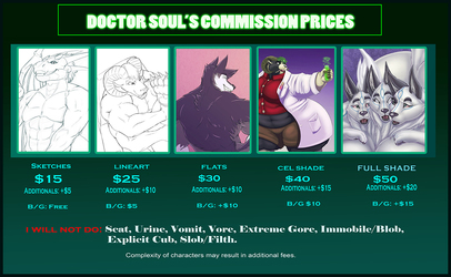 Commission Info Sheet