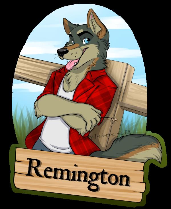 Remington Bust Badge